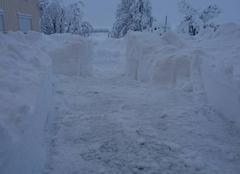 Neige Bois-d'Amont 39220 Tombé en une nuit
