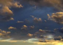 Ciel Ales 30100 Coucher de soleil