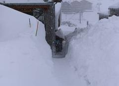 Grosse chute de neige