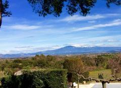 Le Mont Ventoux et la Plaine du Comtat