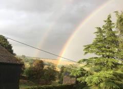 Orage Saint-Louet-sur-Seulles 14310 Arc en ciel