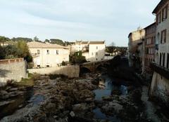 Ciel voilé sur Trans en Provence