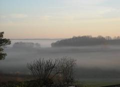 Brouillard Duras 47120 Brume matinale dans le duracquois