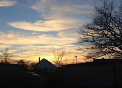 Ciel Curdin 71130 Coucher de soleil