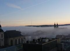 Brouillard sur la ville