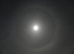 Ciel Lagarde-Pareol 84290 Pleine lune