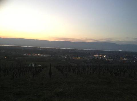 Un soir au dessus de Douvaine