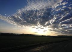 Ciel Vouthon-Haut 55130 L'aube