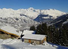 Ciel La Plagne-Centre 73211 Vue sur le mont blanc