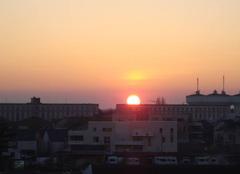 Ciel Angers 49000 Impressionnant soleil  !