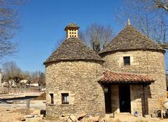Ciel Rocamadour 46500 Paysage du Quercy