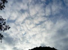 Passage nuageux important