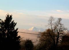 Ciel de ce jour donc du mercredi 22 mars à 8 h 01 sur les Pyrénées.