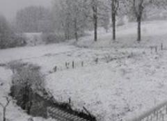 Neige Usson-en-Forez 42550 Vive le printemps