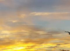 Ciel Riberac 24600 Coucher de soleil
