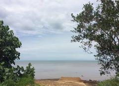 Mer Mont-Dore 98810 Vue du lagon depuis PLUM ?