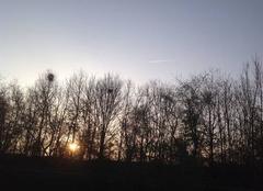 Ciel Gaillon 27600 Levé de soleil sur gaillon.