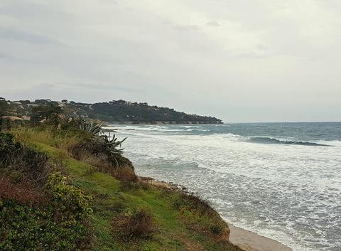 Une journée médiocre avec du vent dans le Golfe de St Tropez