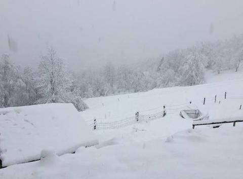 Neige de printemps en Ariege