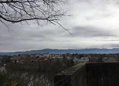 Panoramique de Bourg-de-Péage depuis le belvédère de Bellevue