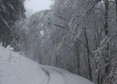 Neige Boussenac 09320 Chute de neige