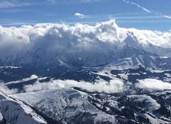 Nuages La Clusaz 74220 Mt blanc dans les nuage