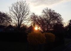 Ciel Lutterbach 68460 Lever  de soleil