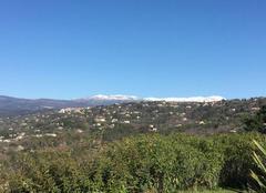 Neige de printemps sur le mont lachens