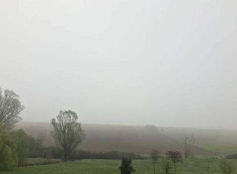9h15 Brouillard dans le 31 6 degrés
