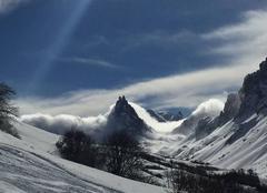 Nuages Valloire 73450 L'aiguille noire ( valloire )