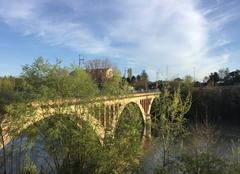 Ciel Romans-sur-Isere 26100 Le Pont Neuf ce soir