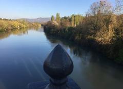 Ciel Romans-sur-Isere 26100 Début de soirée sur les berges d'Isère