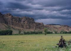 Nuages Denver Un bel orage en prévision