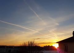 Ciel Argentan 61200 Levé de soleil