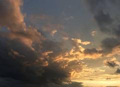 Ciel Chilly-Mazarin 91380 Coucher de soleil