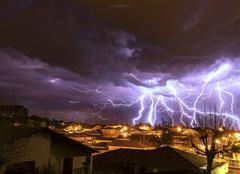Ciel Tarnos 40220 Orage de printemps ?