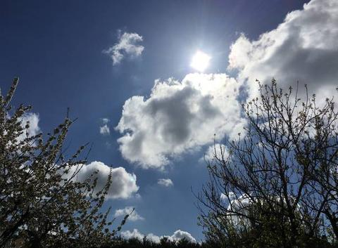 Soleil sur Gargenville