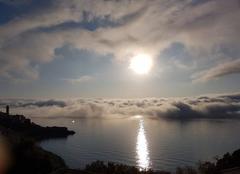 Nuages Bastia 20200 Les nuages arrivent de la mer