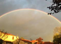 Ciel Castres 81100 Arc en ciel trop beau