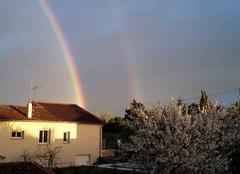 Ciel Castres 81100 Arc en ciel de printemps