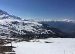 Ciel Montgellafrey 73130 Ski de printemps