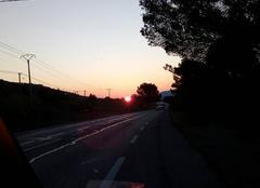 Ciel Puget-Ville 83390 Lever de soleil