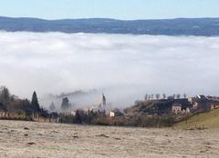 Brouillard Pradelles 43420 Village de pradelles