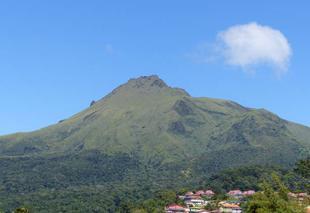 Nuages Le Morne-Rouge 97260 Martinique la montagne pelée