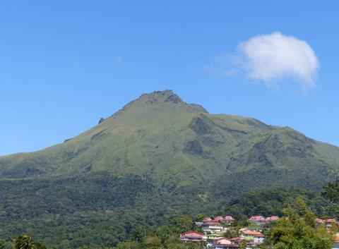 Martinique la montagne pelée