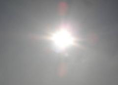 Chaleur Saint-Laurent-d'Aigouze 30220 Beau soleil ciel bleu-9H30
