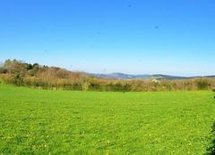 Ciel Arleuf 58430 Point de vue sur Château- Chinon