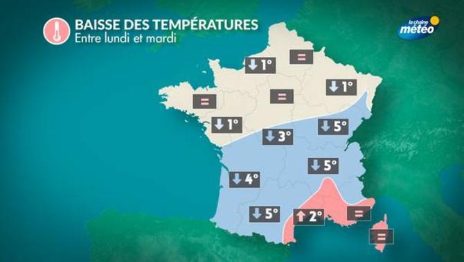 Actualit m t o demain la baisse des temp ratures se - Meteo orleans demain ...