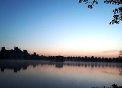 Ciel Fontainebleau 77300 Départ rando 3 châteaux
