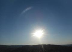 Ciel Saint-Julien-de-Peyrolas 30760 Hier  soir...coucher  de   soleil...